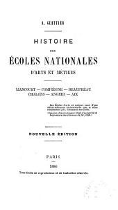 Histoire des écoles nationales d'arts et métiers