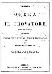 Il trovatore: Containing the Italian text