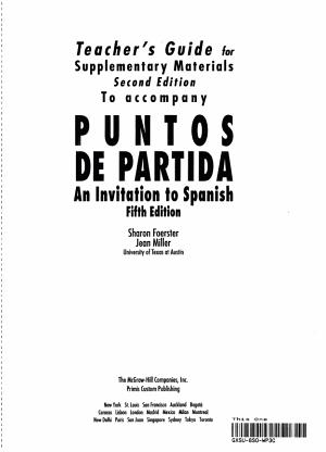 Puntos De Partida PDF