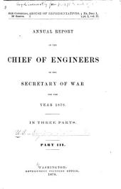 Annual Reports of the War Department: Part 3