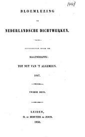 Bloemlezing uit Nederlandsche dichtwerken