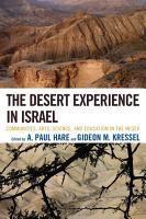 The Desert Experience in Israel PDF