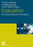 Evaluation PDF