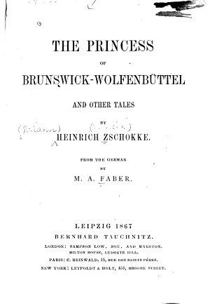 The Princess of Brunswick Wolfenb  ttel PDF