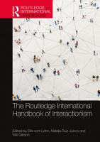 The Routledge International Handbook of Interactionism PDF