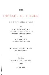 The Odyssey of Homer: Done Into English Prose