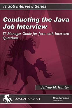 Conducting the Java Job Interview PDF