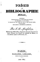 Précis de Bibliographie médicale, etc