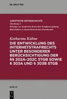 Die Entwicklung des Internetstrafrechts PDF