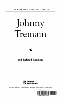 Johnny Tremain and Related Readings