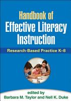 Handbook of Effective Literacy Instruction PDF