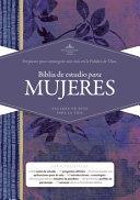 Rvr 1960 Biblia de Estudio Para Mujeres  Tapa Dura PDF