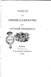 Saggio di poesie campestri del cavalier Pindemonte