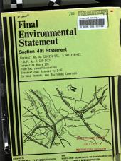 I-195 (MD-166 Extension), Baltimore-Washington International Airport to I-95, Anne Arundel/Baltimore/Howard Counties: Environmental Impact Statement
