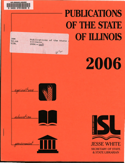 Publications of the State of Illinois PDF