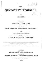 Missionary Register: Volume 40