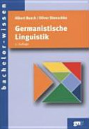 Germanistische Linguistik PDF