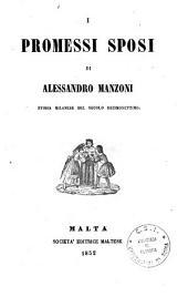 I promessi sposi: storia milanese del secolo decimosettimo