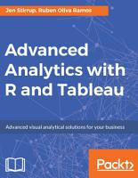 Advanced Analytics with R and Tableau PDF
