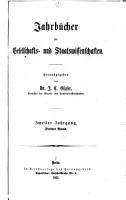 Jahrb  cher f  r gesellschafts  und staatswissenschaften PDF