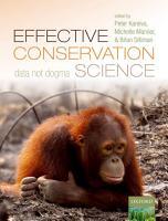 Effective Conservation Science PDF