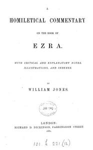 A homiletical commentary on the book of Ezra PDF