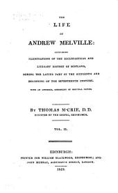 M'Crie's Works: The life of Andrew Melville
