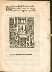 Raemundi Lulli Eremite divinitus illuminati in Rhetoricen Isagoge perspicacibus ingeniis expectata