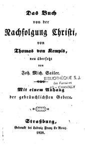 Das Buch von der Nachfolgung Christi von Thomas a Kempis