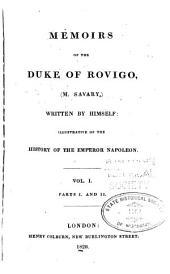 Mémoirs du duc Rovigo: Volume1