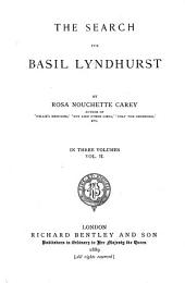 The Search for Basil Lyndhurst: Volume 2