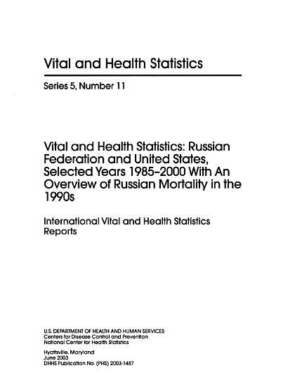 Vital   Health Statistics PDF