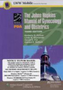 The Johns Hopkins Manual of Gynecology and Obstetrics  for PDA PDF