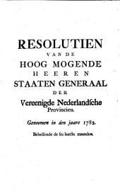 Resolutien, 1688-1794