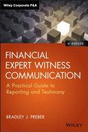 Financial Expert Witness Communication PDF