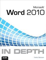 Microsoft Word 2010 In Depth, Portable Documents