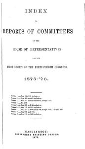 reports of committees of the house of repersentatives PDF