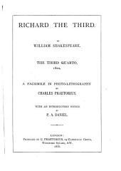 Shakspere Quarto Facsimiles: With Introductions, Line-numbers, &c., by Shakspere Scholars, Volume 42