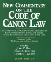 New Commentary on the Code of Canon Law PDF
