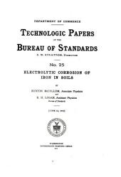 Technologic papers of the Bureau of Standards: Issue 25