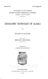 Geographic Dictionary of Alaska