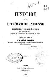 Histoire de la littérature indienne
