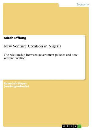 New Venture Creation in Nigeria PDF