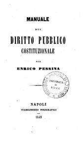 Manuale del diritto pubblico costituzionale