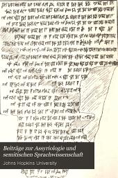 Beiträge zur Assyriologie und semitischen Sprachwissenschaft: Band 5