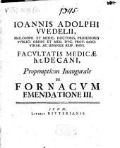 De fornacum emendatione: Volume 3