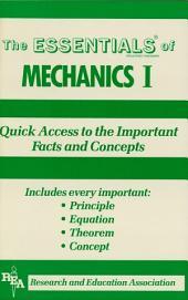 Mechanics I Essentials