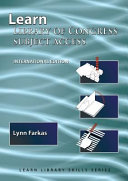 Learn Library of Congress Subject Access  International Edition  PDF