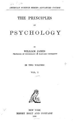 The Principles of Psychology PDF