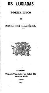 Os Lusiadas: poema epico